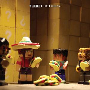 The Block Maze - Tacos Wallpaper
