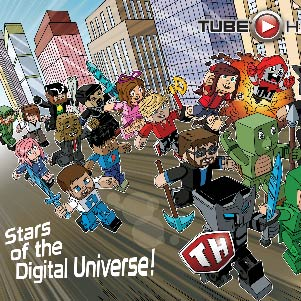 Tube Heroes Comic Wallpaper