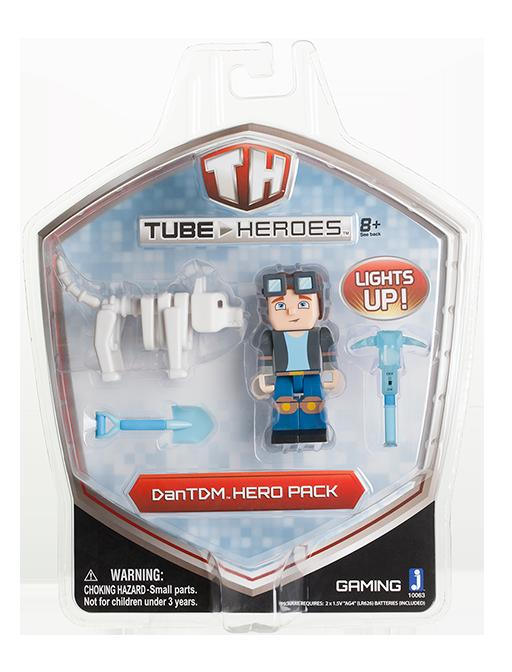 DanTDM DanTDM - Hero Pack 2