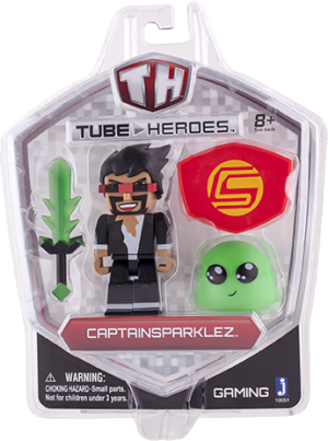 CaptainSparklez CaptainSparklez - Action Figure